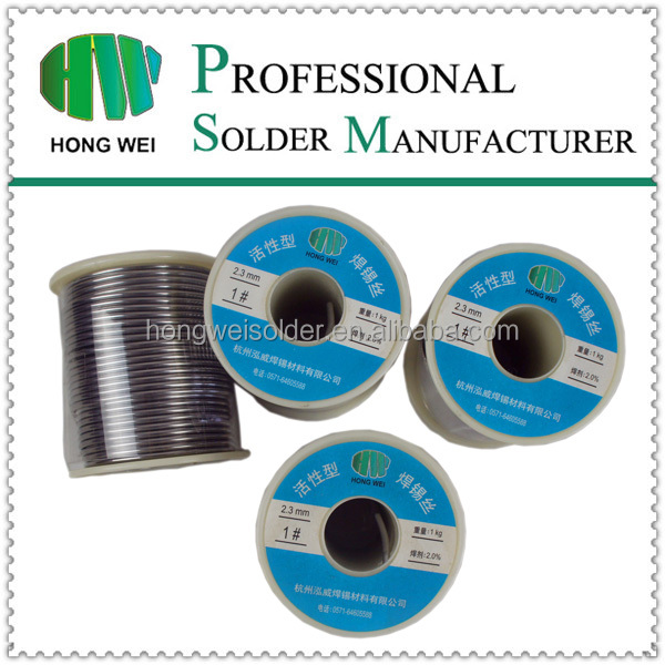 Hw0580 Sn40pb60 40%tin 60% Lead Solder Wire For Electronic Soldering ...