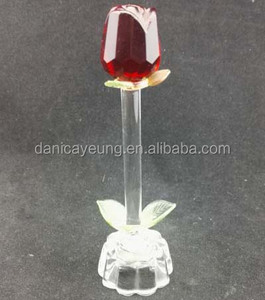 LED glass rose valentine's day gifts