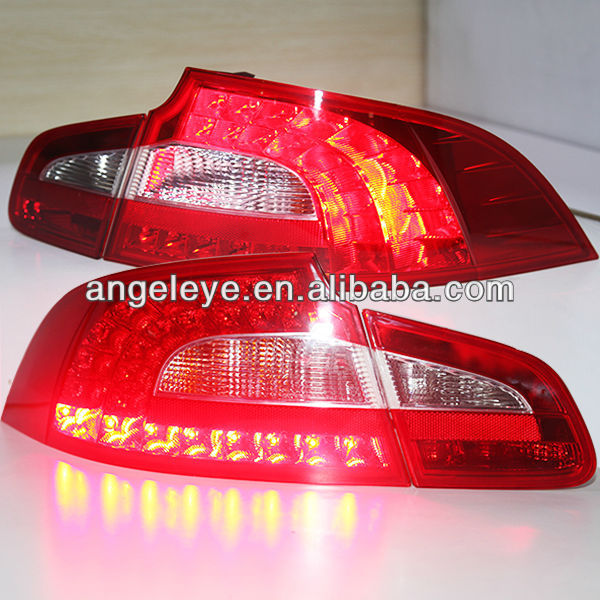 2010-2013 Year Skoda Superb LED Tail Light Rear Lamps Red White Color