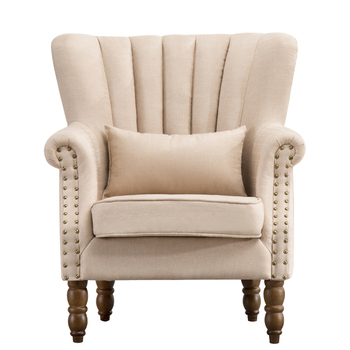 American Style Villa Designs Of Single Seater Sofa