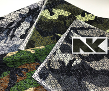 NK C002 netto en glitter gecoat oxford tas <span class=keywords><strong>stof</strong></span> met camouflage element