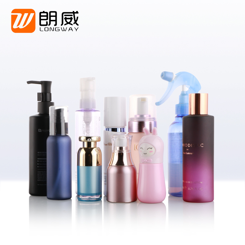 Alibaba Top seller OEM cosmetic lotion water spray or pump plastic bottle
