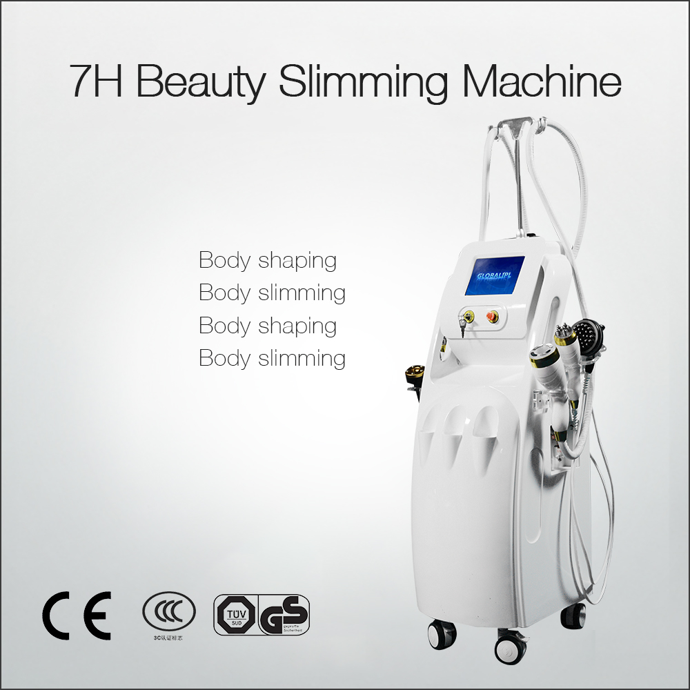 Ultra Cavitation Tripolar RF Weight Loss And Wrinkle Removal 6 In 1 Machine