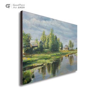 Spring wall decor art 3d canvas oil Mothers' Day best gift beautiful scenery painting