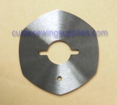 "Cutex Brand 2-1/4"" Hexagon Blade For Eastman Chickadee Electric Rotary Shears"