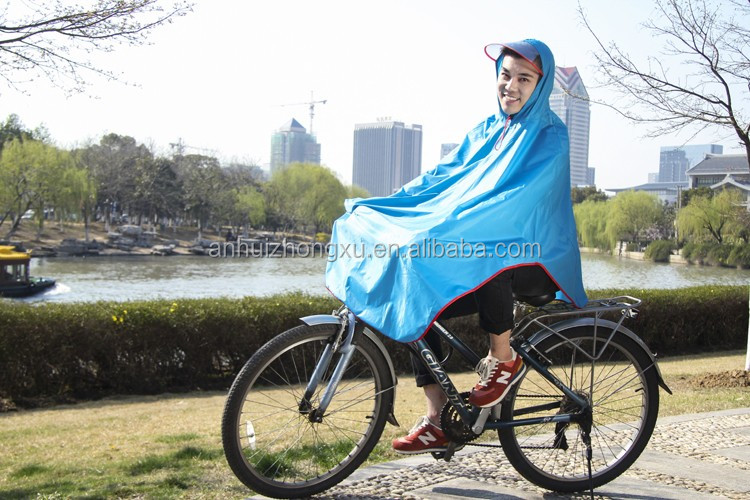 Anhui Raincoat Funny Rain Poncho Bike Rain Poncho Oxford Raincoat