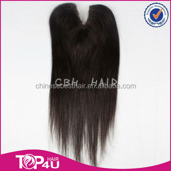 Best selling products in america swiss lace front closure indian virgin hair v part lace closure