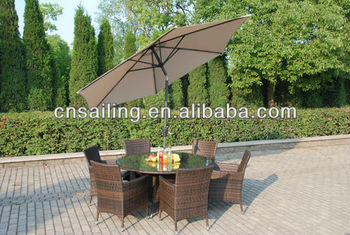 Hot Sell Reasonable Price Sgs Tested Outdoor Furniture With Umbrella