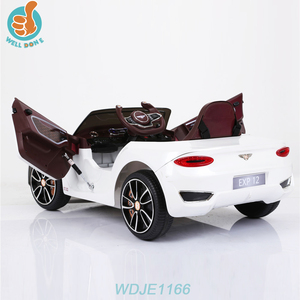 WDJE1166 Ride-on Children's Licensed Bentley Toys Kids Electric Licensed Ride on Car Baby Relax Seat
