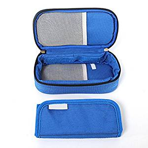 Get Quotations Zorvo Diabetic Insulin Protector Case Supply Cooler Cool Bag Pack Injector Wallet