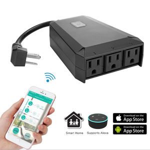 Built-in overload protection and surge protection smart 220v wifi plug for smart home