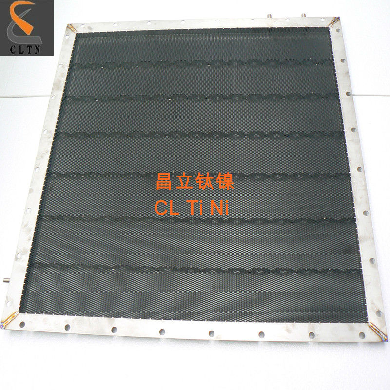 titanium tray for chlor-alkali plant