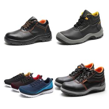Jackbaggio safety shoes Black nubuck