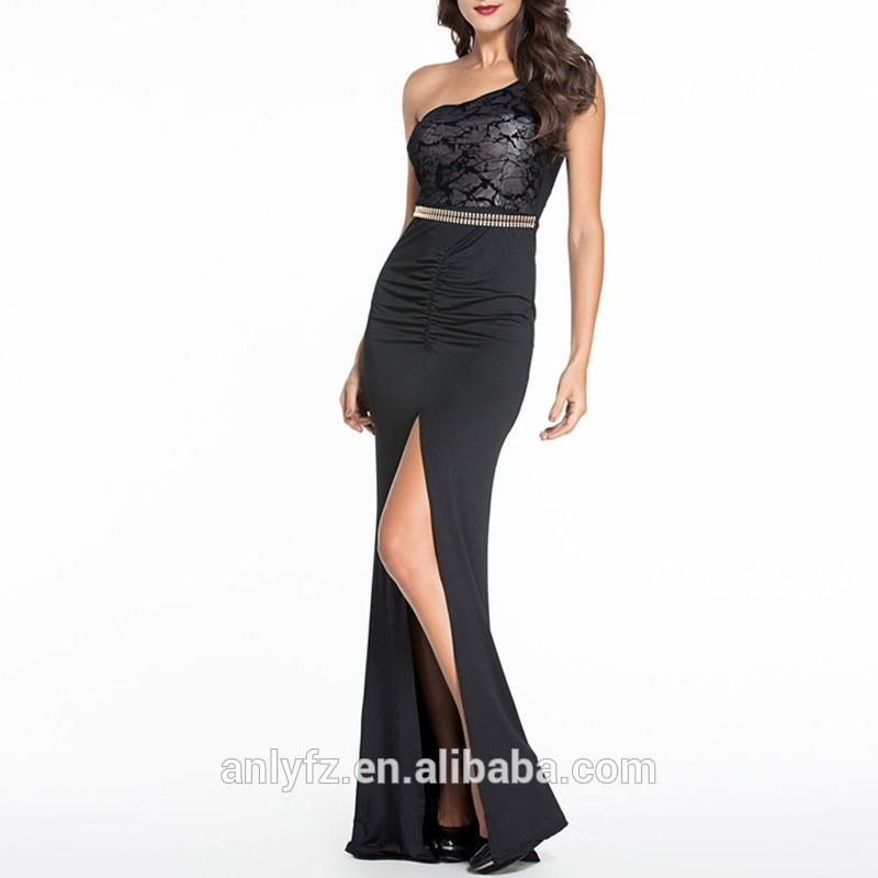 Su ordine del Halter Neck Design Tulle Sexy Lungo Prom Dress
