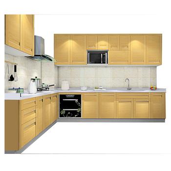 Modern Simple Design Laminated Plywood Kitchen Cabinet Furniture Guangzhou  Manufacturer Wholesale - Buy Modern Simple Desgign Kitchen ...