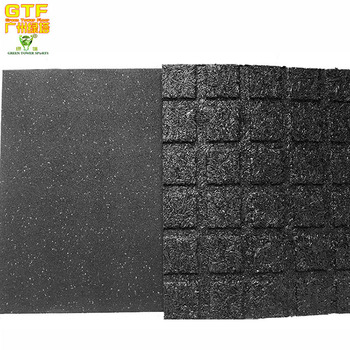 25mm Thick Outdoor Rubber Mat/ Rubber Flooring/ Playground Safety Flooring  Tiles