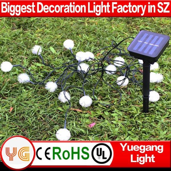 Led solaire extérieure unique de noël lampes solaires de décoration de vacances laser arbre de noël