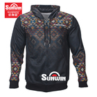Custom polyester hoodies drawstring heavy weight sublimation hoodie