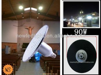 Mordern Lighting Factory China E40 Pizza Base 90w Led High Bay ...