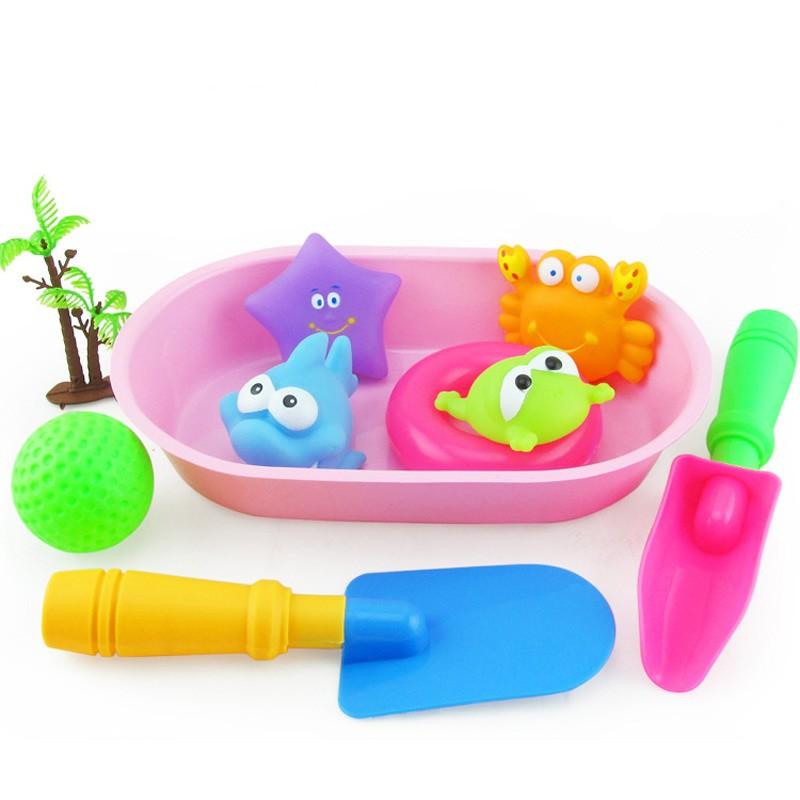 ᗜ Ljഃbeach Gadget2 Baby Bath Toy Munchking 웃 유 Flamingo