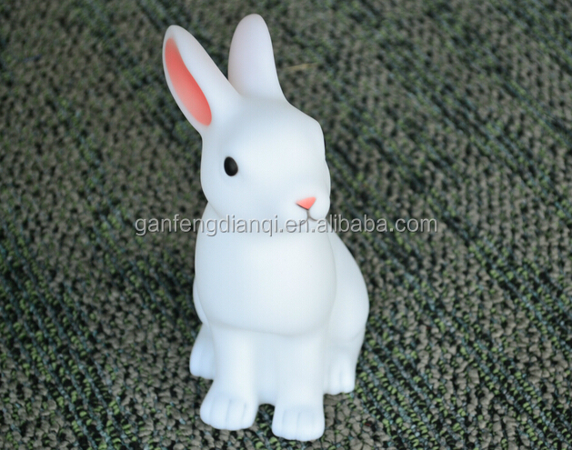 White Rabbit LED Night Light on-off switch with CE listed