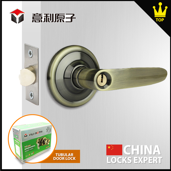 New premium Easy to install zinc mortise handles with locks