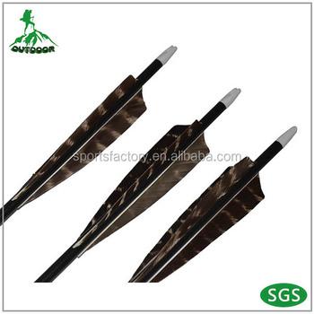 New Coming! Carbon Arrow With 100gr Arrow Tip With Turkey Feather Carbon  Arrows - Buy Carbon Arrow,Carbon Arrow,Arrow Product on Alibaba com