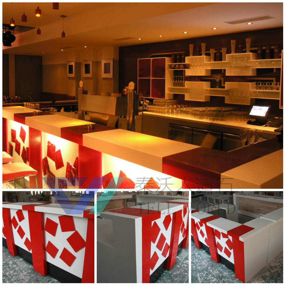 Commercial Coffee Shop Counters Design,modern Cafe Counters/contemporary  Bar Counter Designs