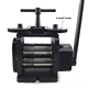 Goldsmith Machine Tools 110mm Black Mini Rolling Mill Jewelry Making Rolling Mill