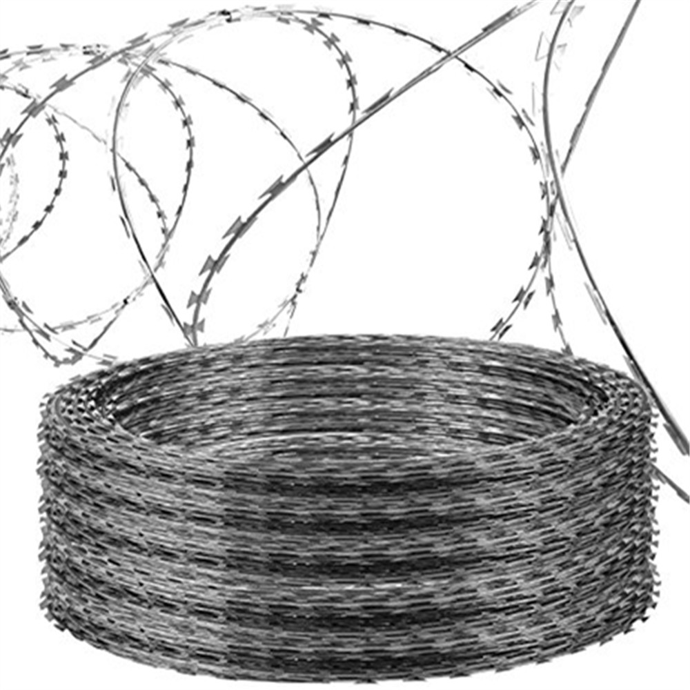 Helical Barbed Wire, Helical Barbed Wire Suppliers and Manufacturers ...