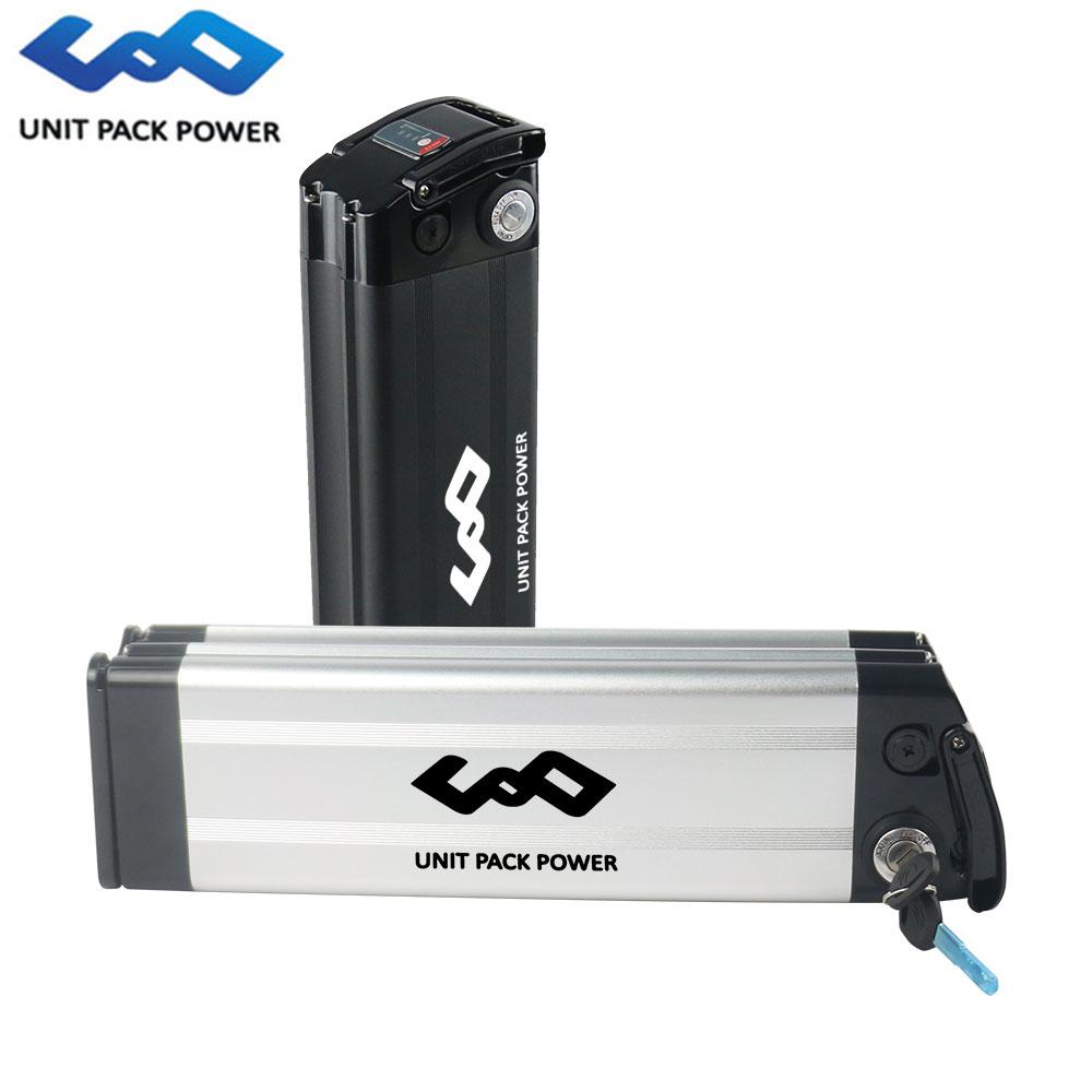 UPP Brand 18650 cells e-bike-akku 36v 15ah silver fish ebike battery for 36v 250w 350w 500w bike