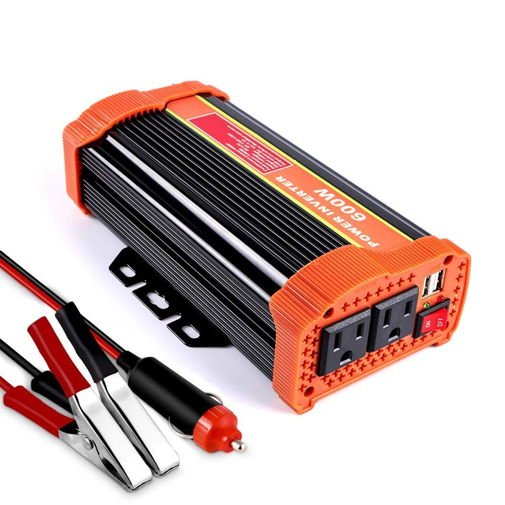 Cheap 600w Inverter Circuit Diagram Find Charger Wiring Also Usb Car Chargers Get Quotations Soyond Power Converter Dc 12v To 110v 120v Ac With 21a