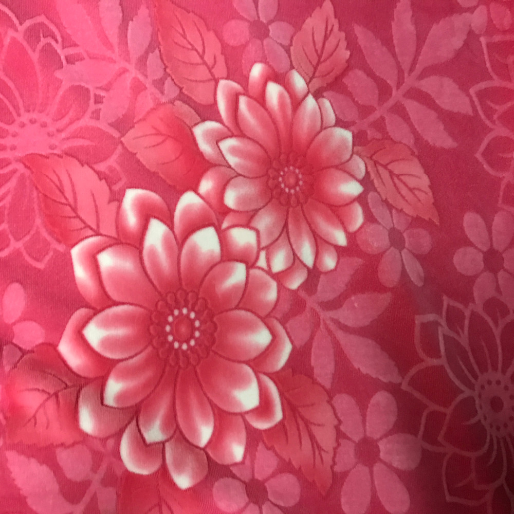 100% polyester burn out velvet fabric for bed sheet or quilt