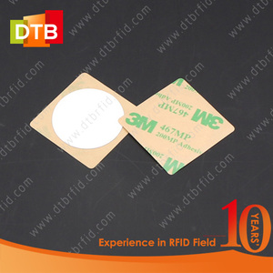 DTB RFID Waterproof Laundry PVC 3M Glue Tag