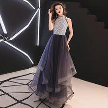 Платья для выпускного вечера It's YiiYa, фиолетовые блёстки с блестящим вырезом, а-силуэта, длина до пола, индивидуальный цвет, большие размеры, д...(Китай)