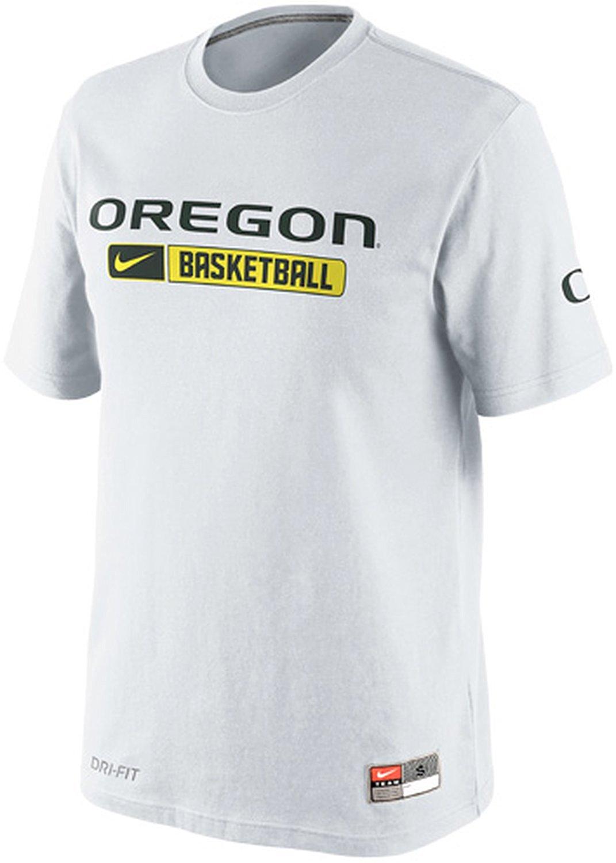 timeless design 457f9 5a37a Nike Oregon Ducks Basketball Team Issued Practice Dri-FIT Cotton Men s T- Shirt