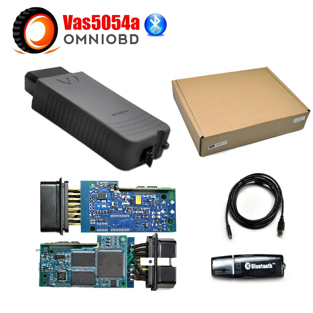 2016 последним Vas5054A диагностический инструмент для VW Bluetooth VAS5054 VAS 5054A VAS 5054 одис V2.2.4 поддержка язык