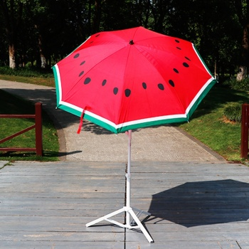 RST  fringe adjustable coffee shop outdoor umbrella  home & garden fruit beach umbrella