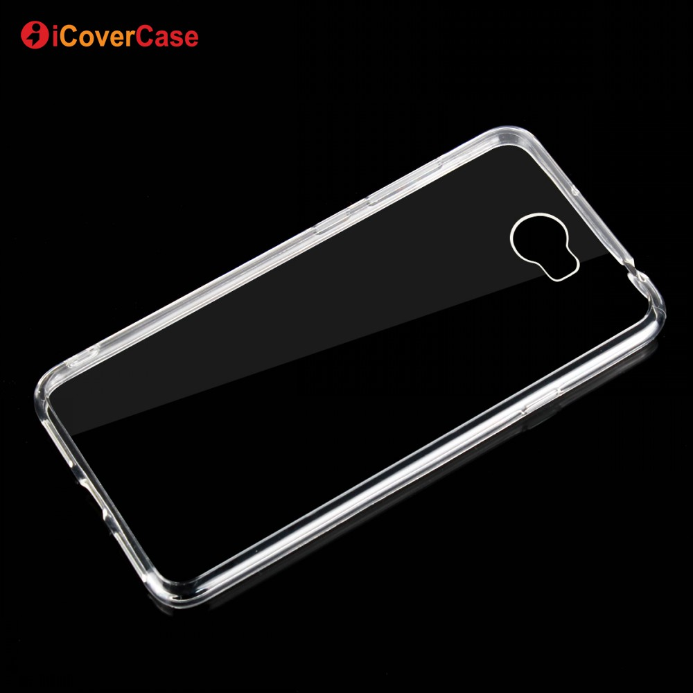 Mobile Accessories Ultra Thin Crystal Soft TPU Silicone Phone Cover Transparent Back Shell Case for Huawei Y6 II Compact