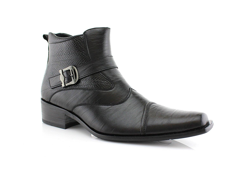 Men/'s Tuxedo Shoes White Delli Aldo Cap Toe Design Lace Up Formal Oxfords 19107