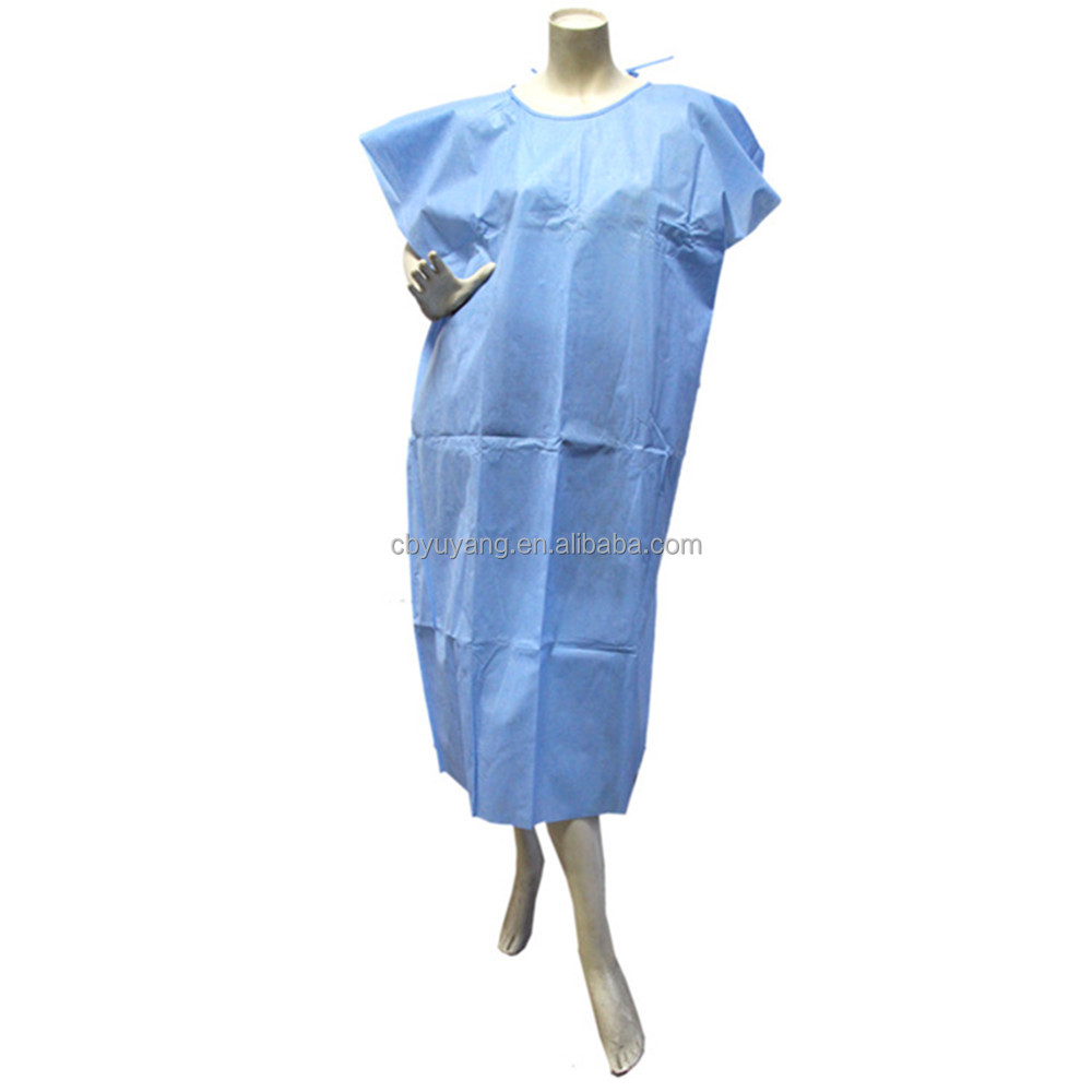 Disposable Hospital Visitor Coat/patient Gown - Buy Patient Gown ...