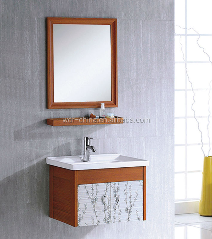 Wall hung made in china single modern bathroom mirrored corner cabinet