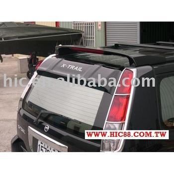 Roof Visor Rear Window Sun Visor Sun Guards Rear Windscreen Visor for Nissan  X trail a4dd8704bda