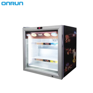 SD-55 display ice cream commercial top freezer refrigerator hotel kitchen for supermarket
