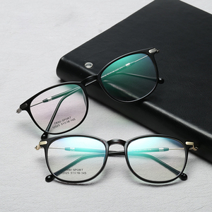 88352cf0f5d0 Newest Fashion Trends Stylish Spectacles Frame Flexible TR90 Metal Optical  Frames Eyewears Manufacturers In China
