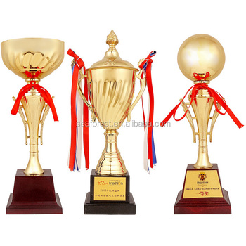 Hotsale Golden Metal Sports Trophy CupNew Design Cupawards And Trophies