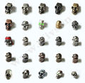 camping equipment outdoor sport hot sale camping tools metal skull beads for survival bracelet