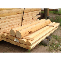 Sale round cedar wood and pine logs price for building projects