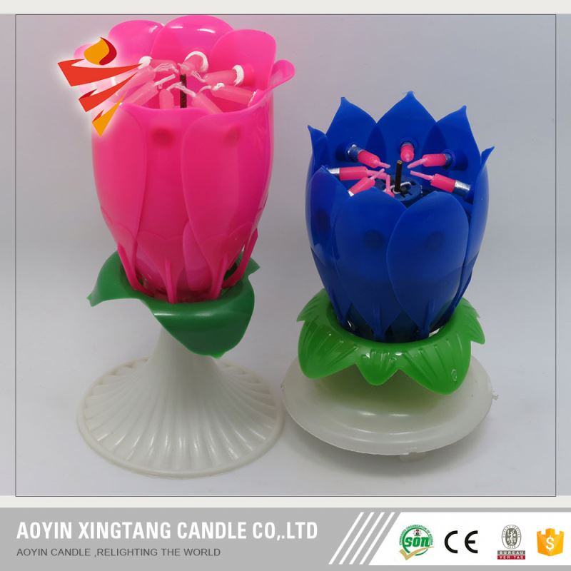 China Manufactures Of Unusual Colorful Birthday Candles