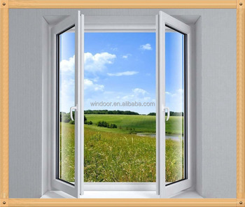 China factory manufacturer upvc casement windows pvc for Window and door manufacturer
